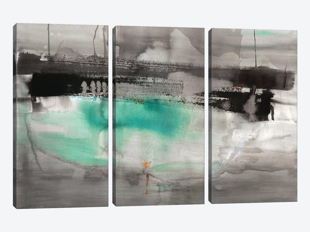 Detached II by Michelle Oppenheimer 3-piece Canvas Art