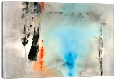 Dusky Turquoise Canvas Art Print