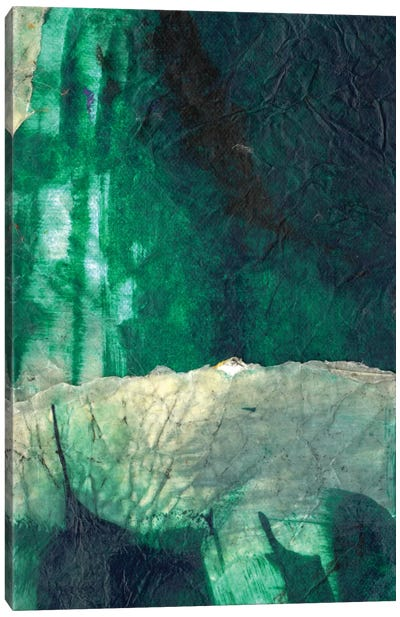 Emerald Flight Canvas Art Print