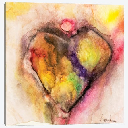 Full Of Heart Canvas Print #OPP36} by Michelle Oppenheimer Canvas Print