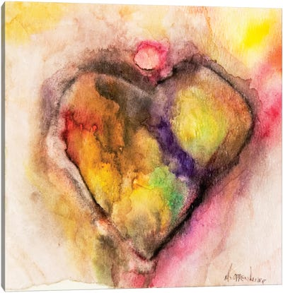 Full Of Heart Canvas Art Print