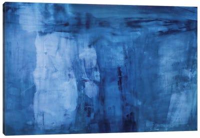 Into The Blue Canvas Art Print