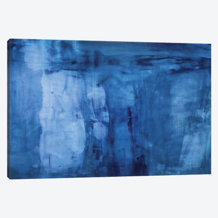 Into The Blue Canvas Print #OPP48} by Michelle Oppenheimer Art Print