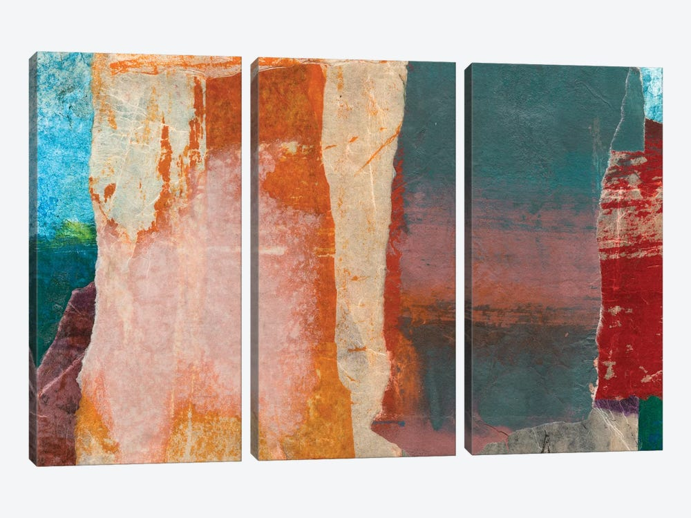 Montage I by Michelle Oppenheimer 3-piece Canvas Artwork