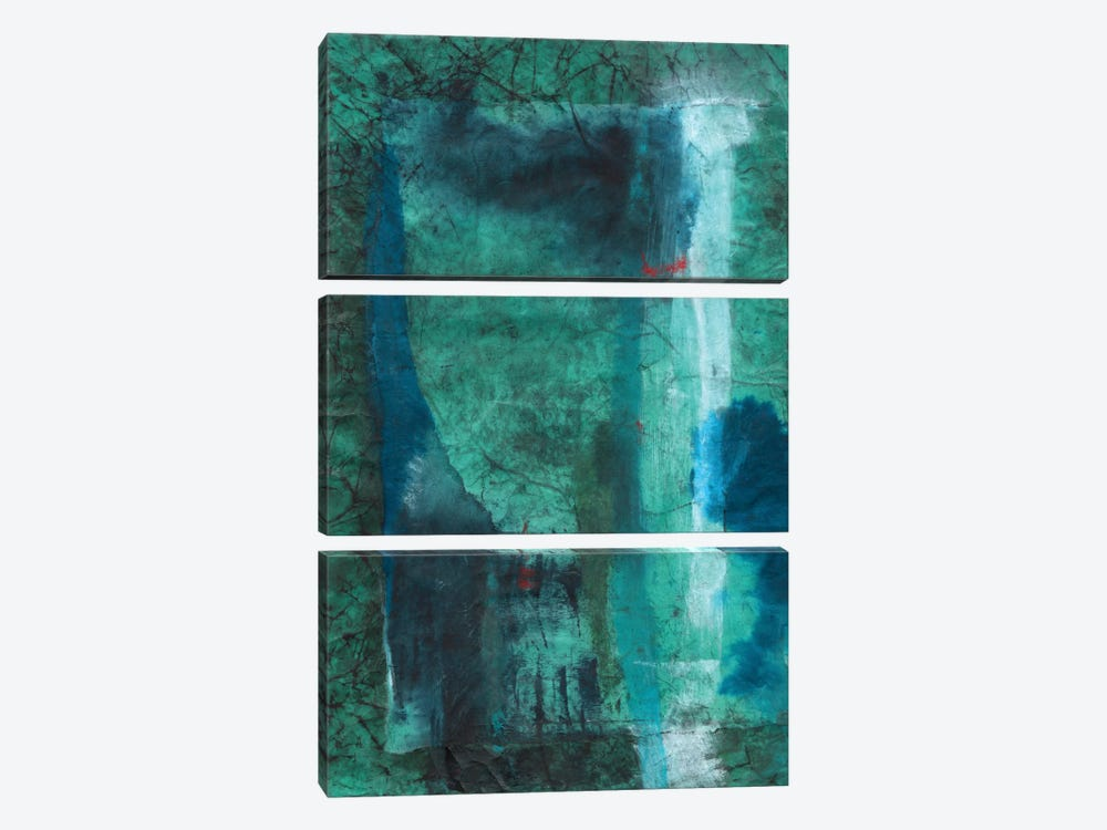 Neptune by Michelle Oppenheimer 3-piece Canvas Print