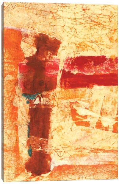 Orange Commotion Canvas Print #OPP58