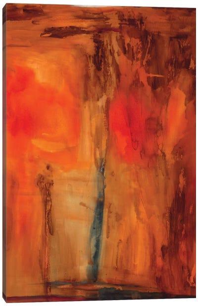 Orange Glow Canvas Art Print