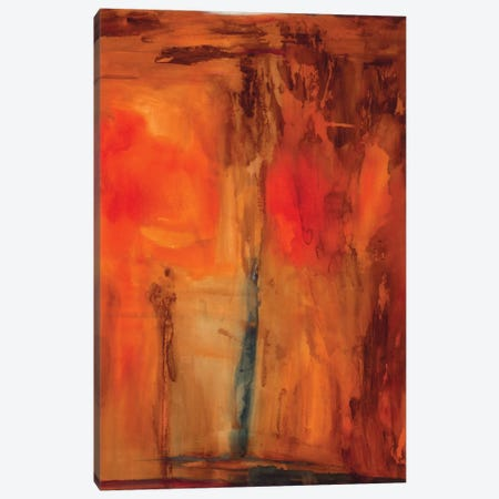 Orange Glow Canvas Print #OPP59} by Michelle Oppenheimer Canvas Wall Art
