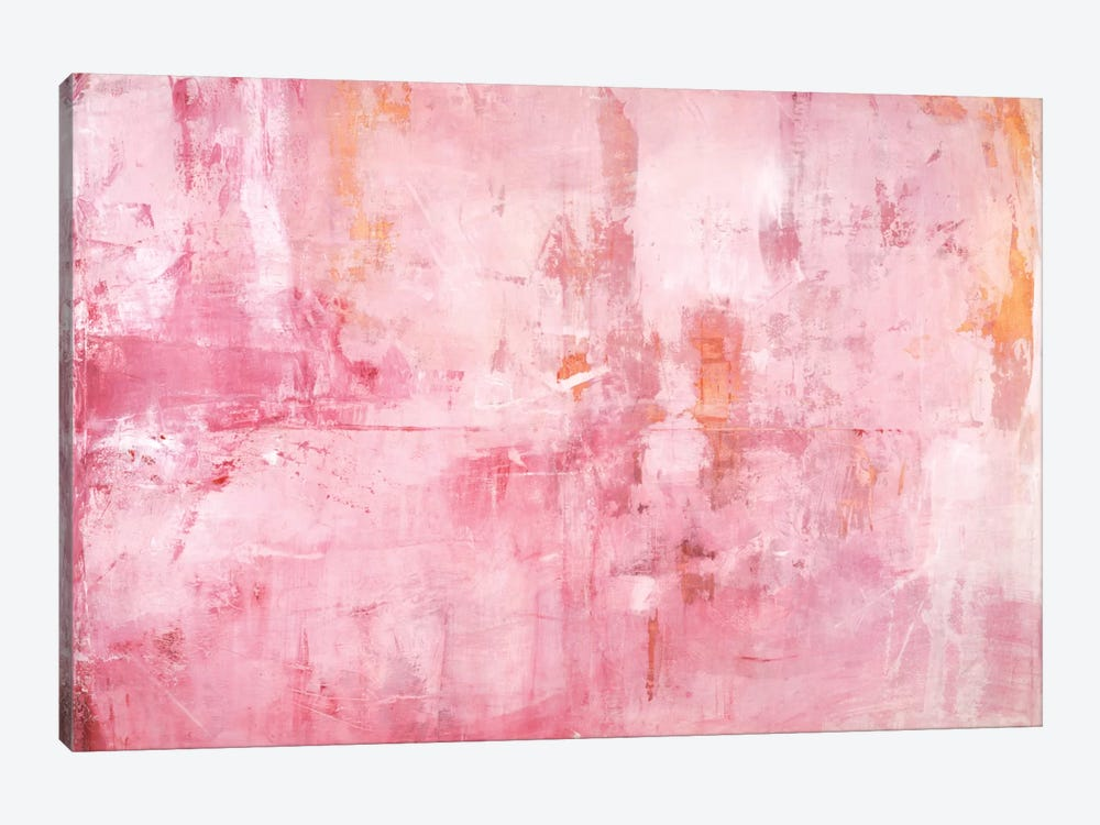 Pink Mirrors by Michelle Oppenheimer 1-piece Art Print