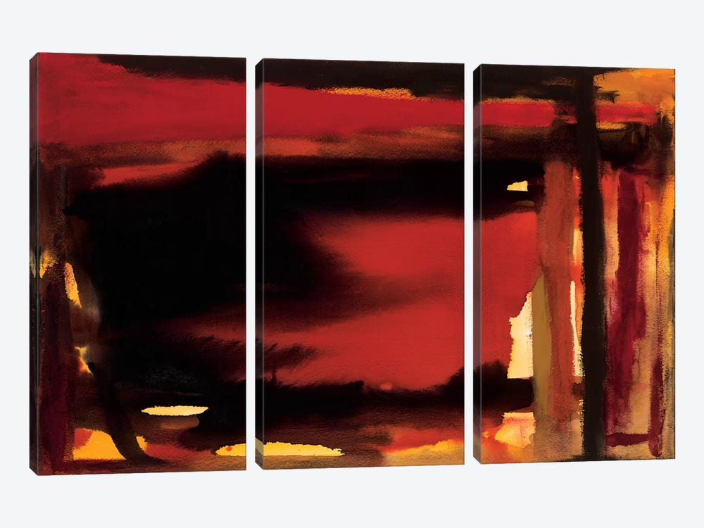 Restless by Michelle Oppenheimer 3-piece Canvas Wall Art