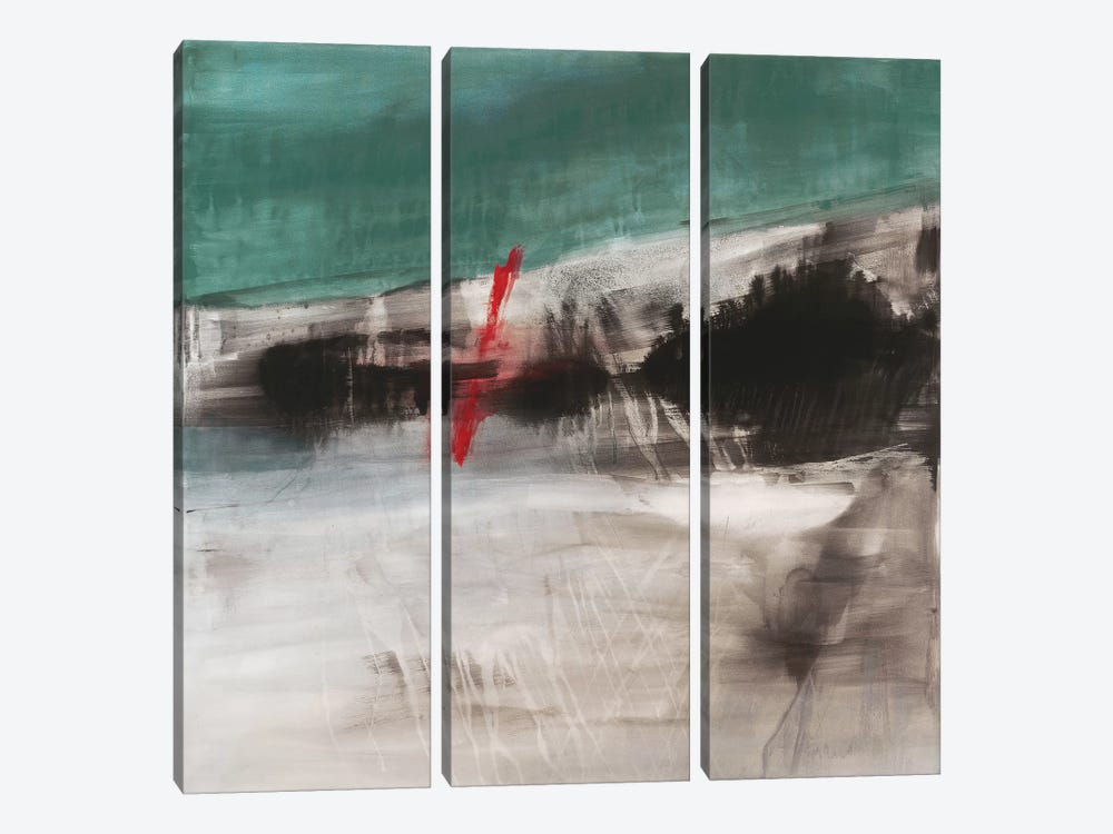 Rupture I by Michelle Oppenheimer 3-piece Canvas Art