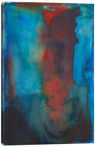 Scarlet Burst Canvas Art Print