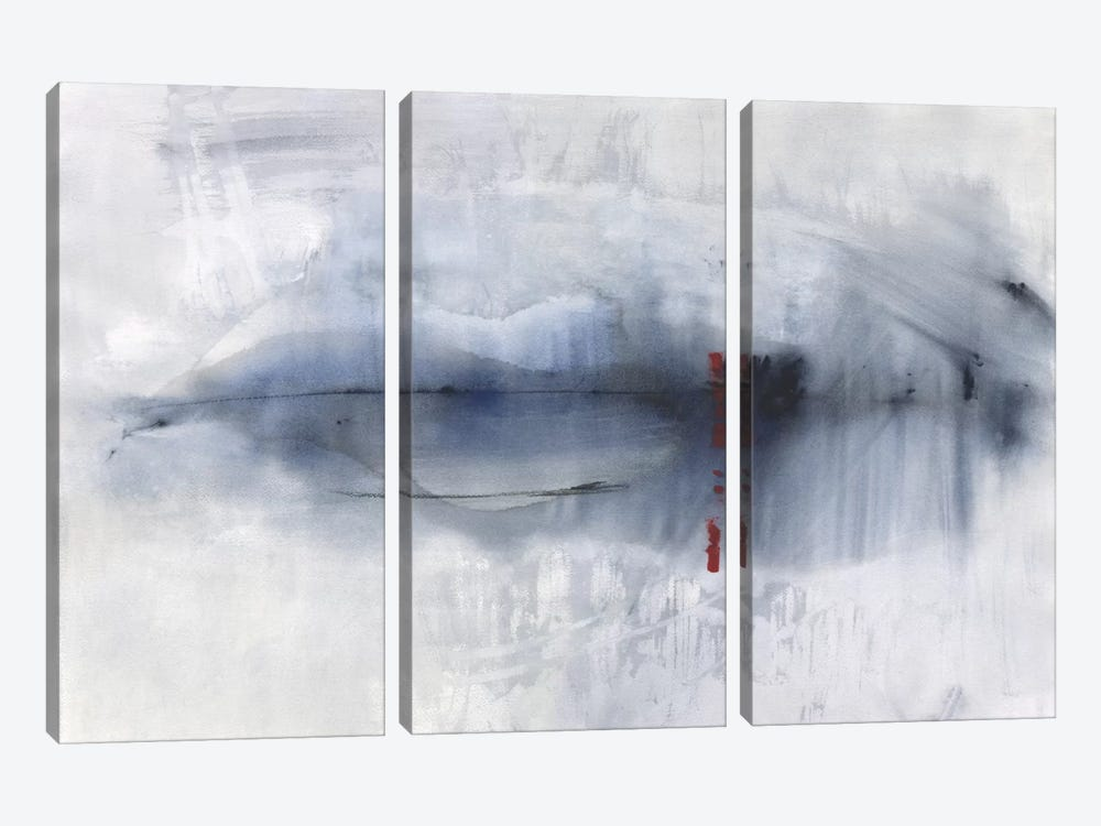 Slate Horizon by Michelle Oppenheimer 3-piece Canvas Art Print