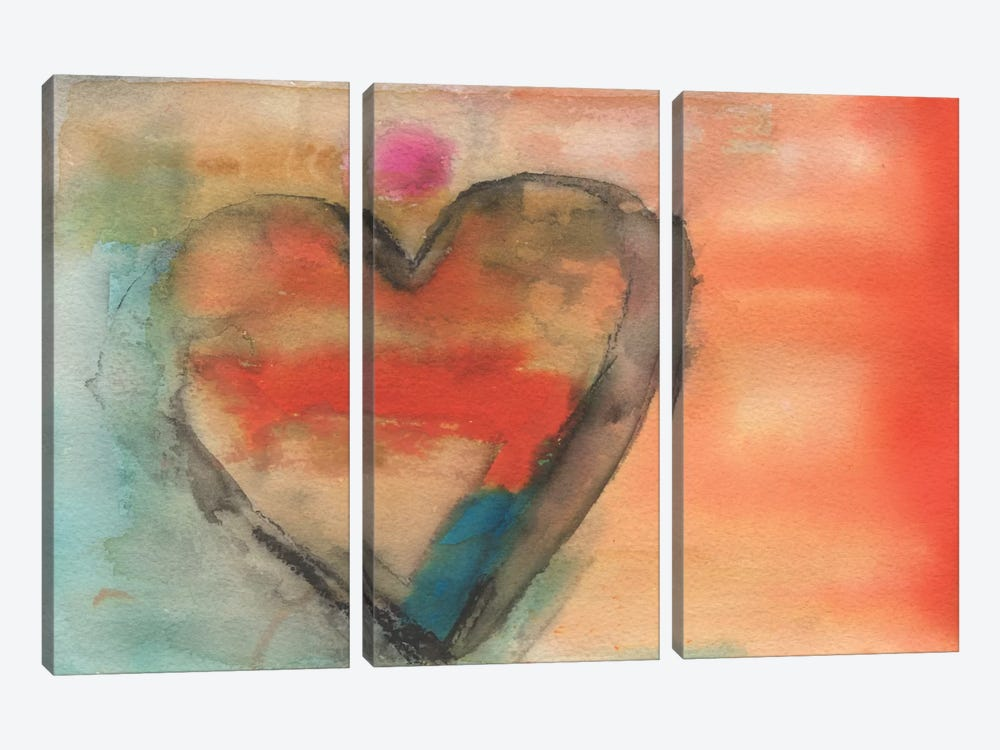 Sweethearts I by Michelle Oppenheimer 3-piece Art Print