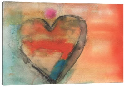 Sweethearts I Canvas Art Print