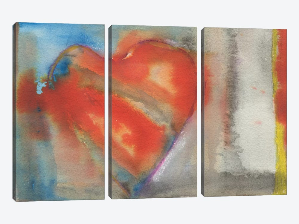 Sweethearts II by Michelle Oppenheimer 3-piece Canvas Wall Art