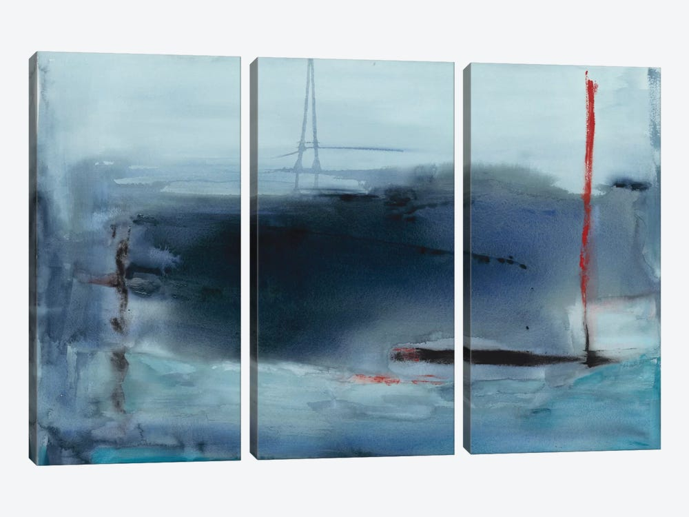 Tempest by Michelle Oppenheimer 3-piece Canvas Print