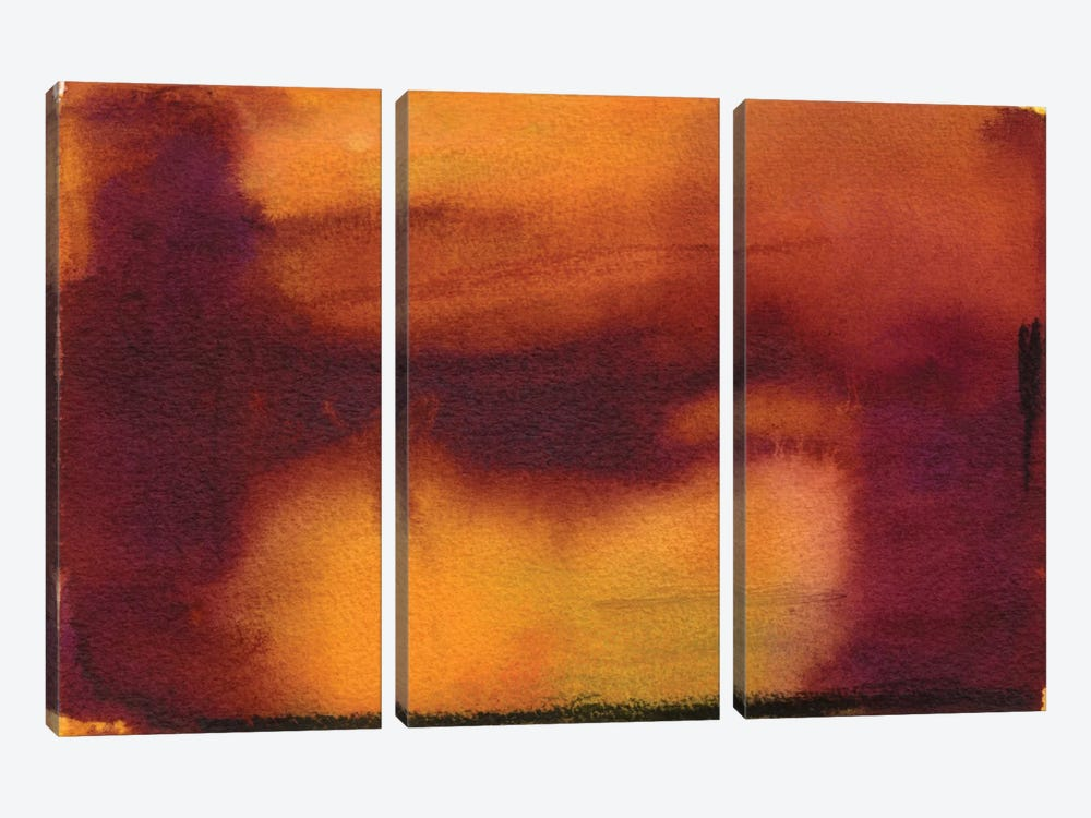 Terra Cotta by Michelle Oppenheimer 3-piece Canvas Art Print