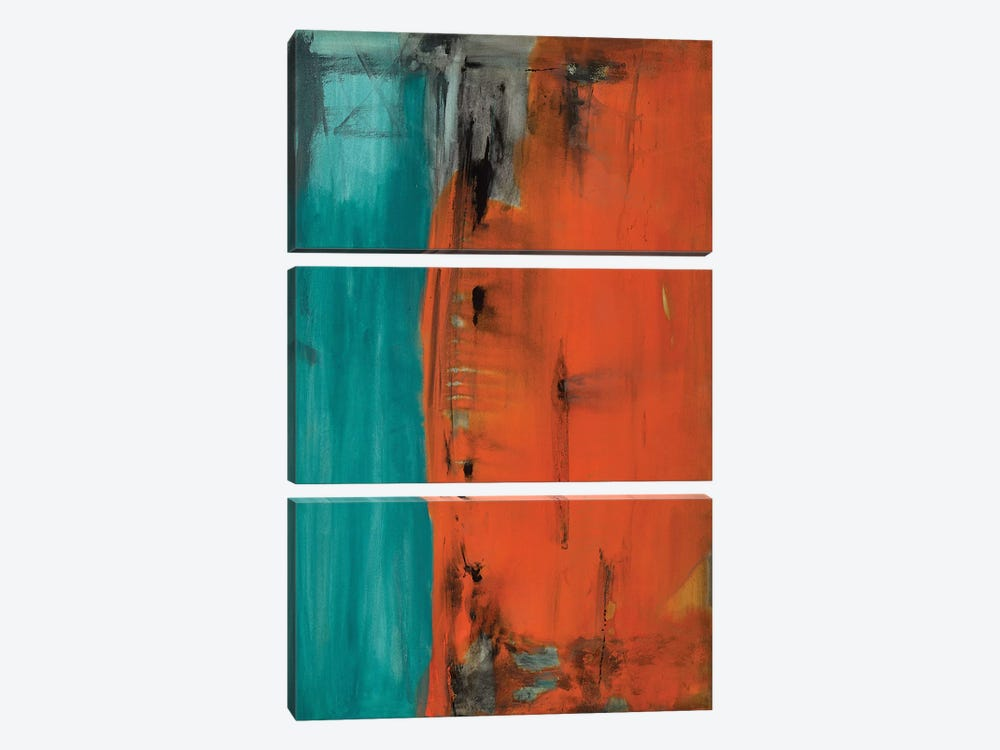 The Other Side by Michelle Oppenheimer 3-piece Canvas Artwork