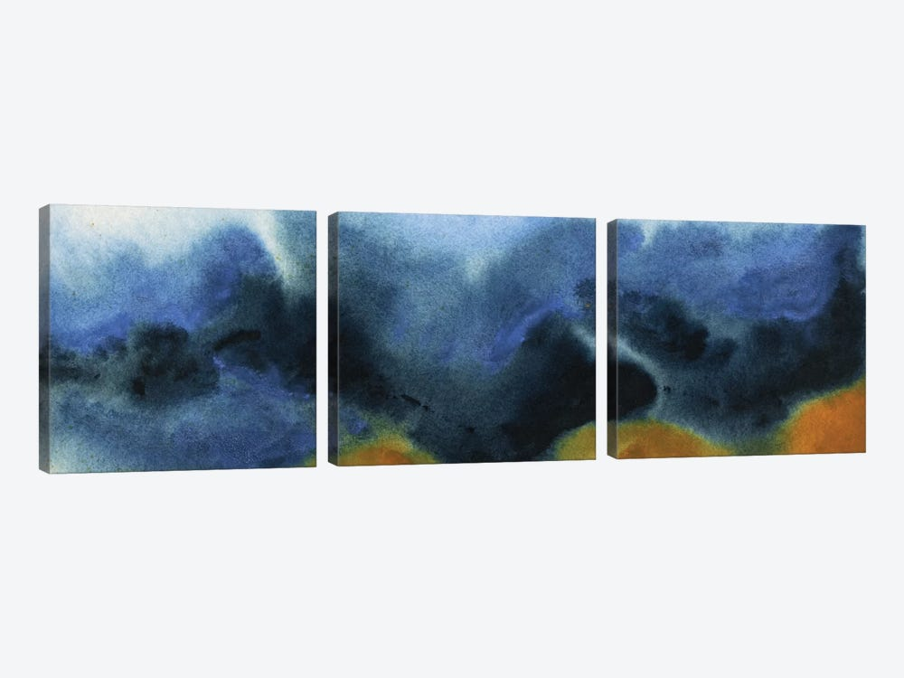 No Ambivalence by Michelle Oppenheimer 3-piece Art Print