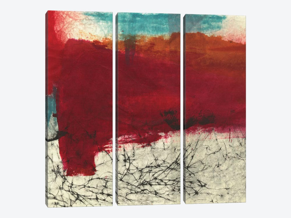 Blazing by Michelle Oppenheimer 3-piece Canvas Art Print
