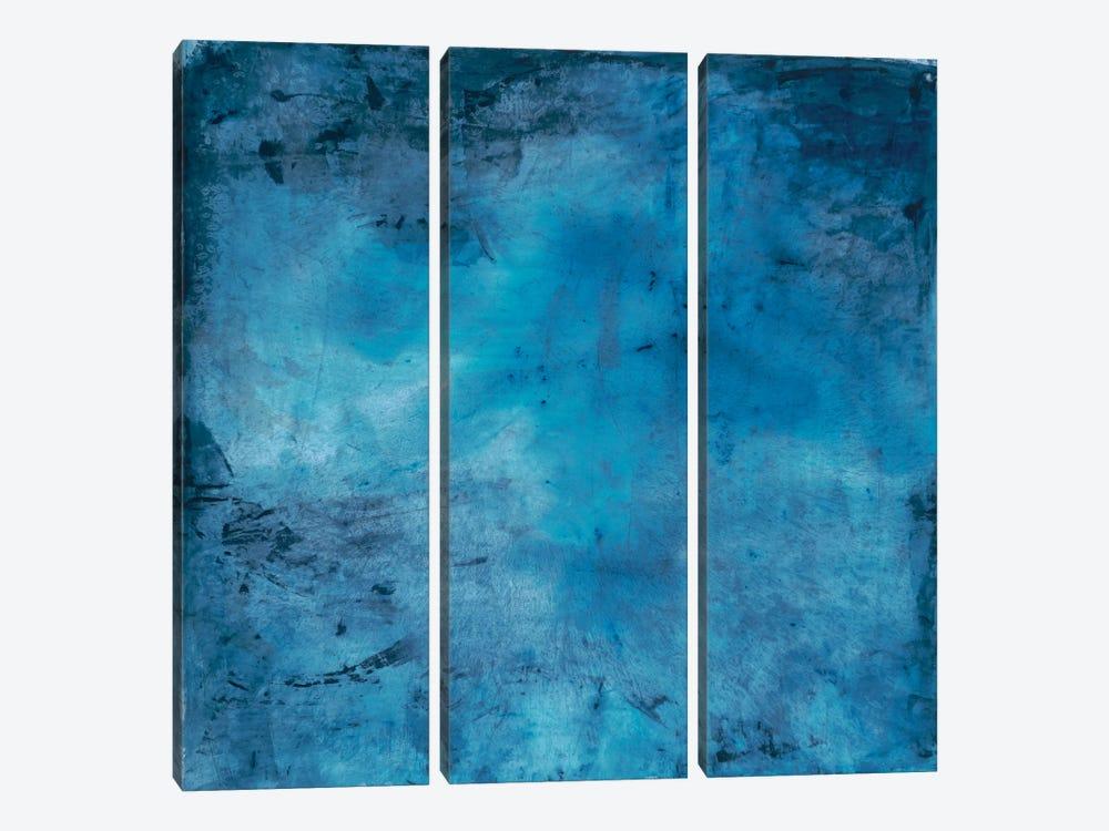 Blue Lagoon by Michelle Oppenheimer 3-piece Canvas Wall Art
