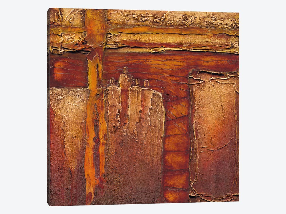 Join Together I by Liesbeth Optendrees 1-piece Canvas Artwork