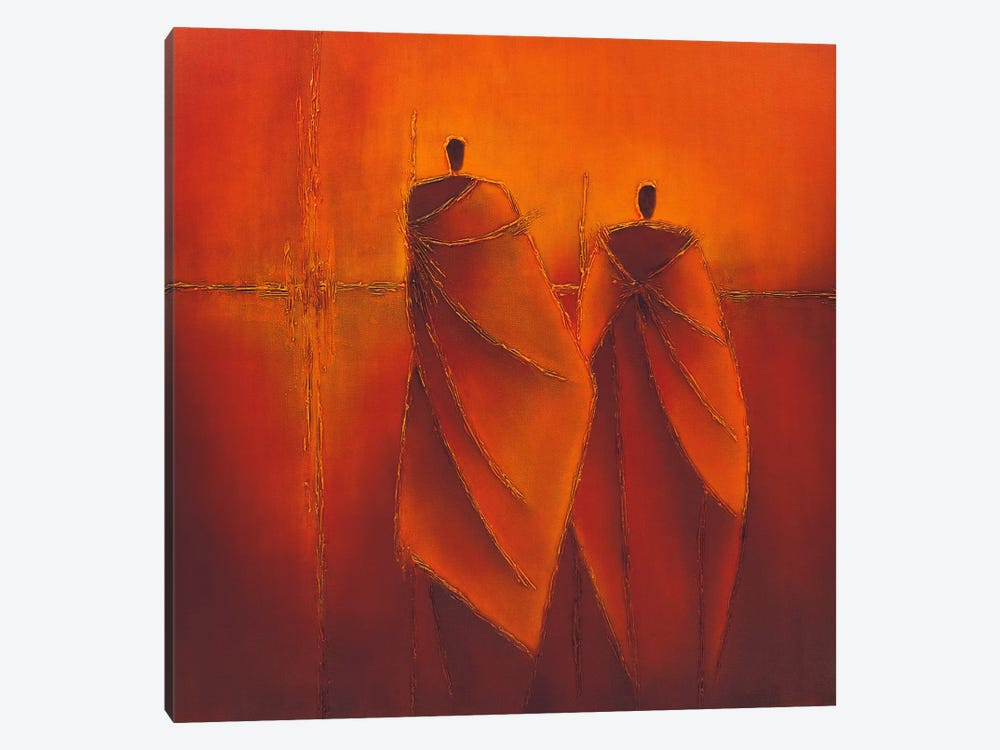 Mysterious II by Liesbeth Optendrees 1-piece Canvas Artwork