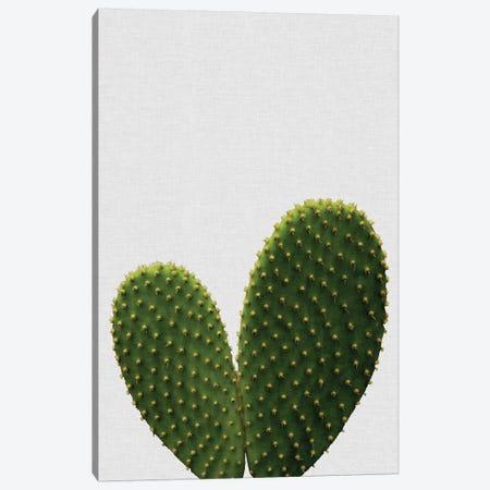 Heart Cactus Canvas Print #ORA100} by Orara Studio Canvas Artwork