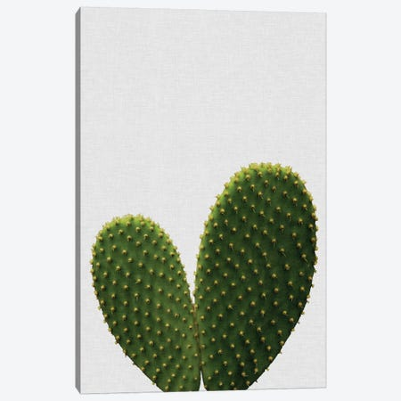 Heart Cactus Canvas Print #ORA100} by Orara Studio Canvas Artwork