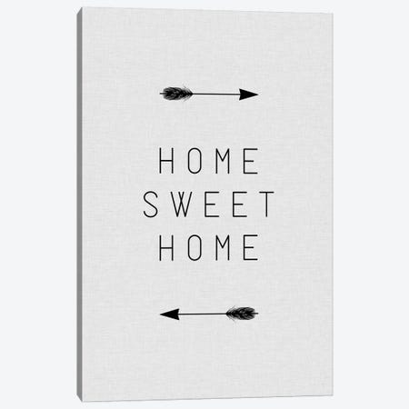 Home Sweet Home Arrow Canvas Print #ORA107} by Orara Studio Canvas Print