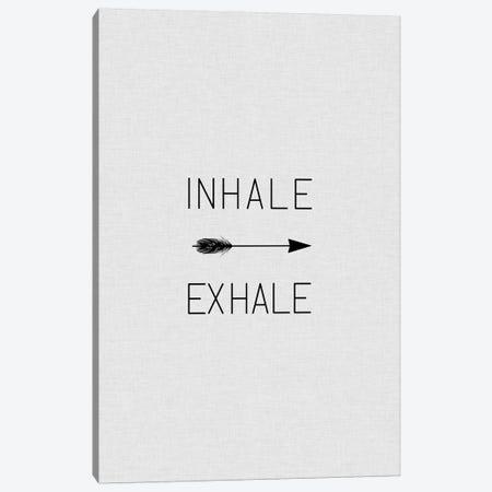Inhale Exhale Arrow Canvas Print #ORA115} by Orara Studio Canvas Wall Art