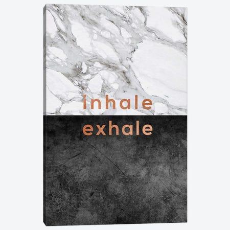 Inhale Exhale Copper 3-Piece Canvas #ORA116} by Orara Studio Canvas Wall Art