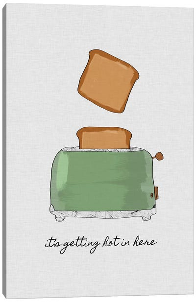 It's Getting Hot In Here Canvas Art Print