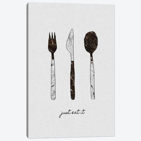Just Eat It Canvas Print #ORA119} by Orara Studio Art Print