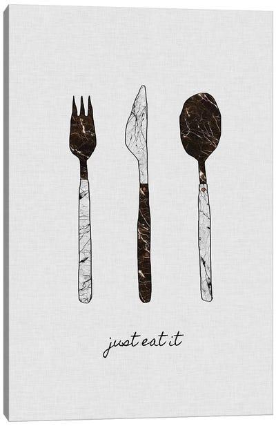 Just Eat It Canvas Art Print