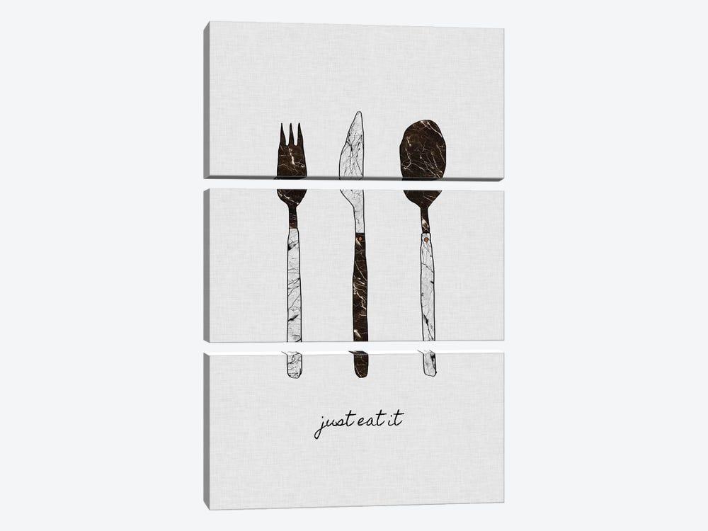 Just Eat It by Orara Studio 3-piece Art Print