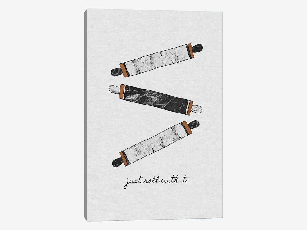 Just Roll With It by Orara Studio 1-piece Canvas Print