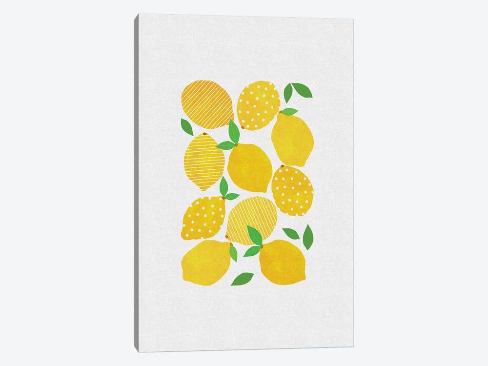 Lemon Crowd by Orara Studio 1-piece Canvas Art