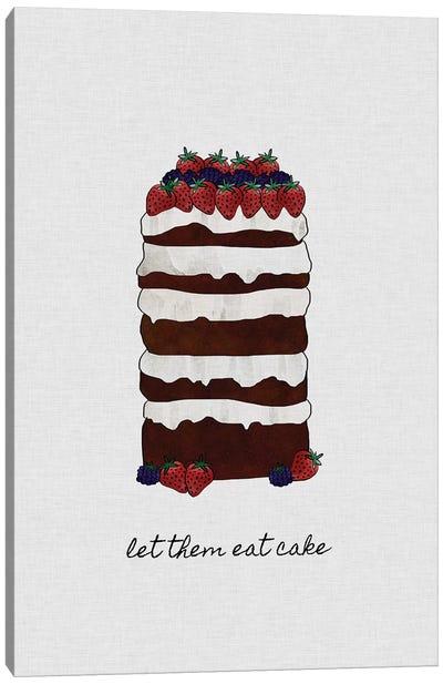 Let Them Eat Cake Canvas Art Print