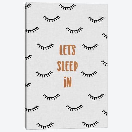 Lets Sleep In Canvas Print #ORA128} by Orara Studio Canvas Art