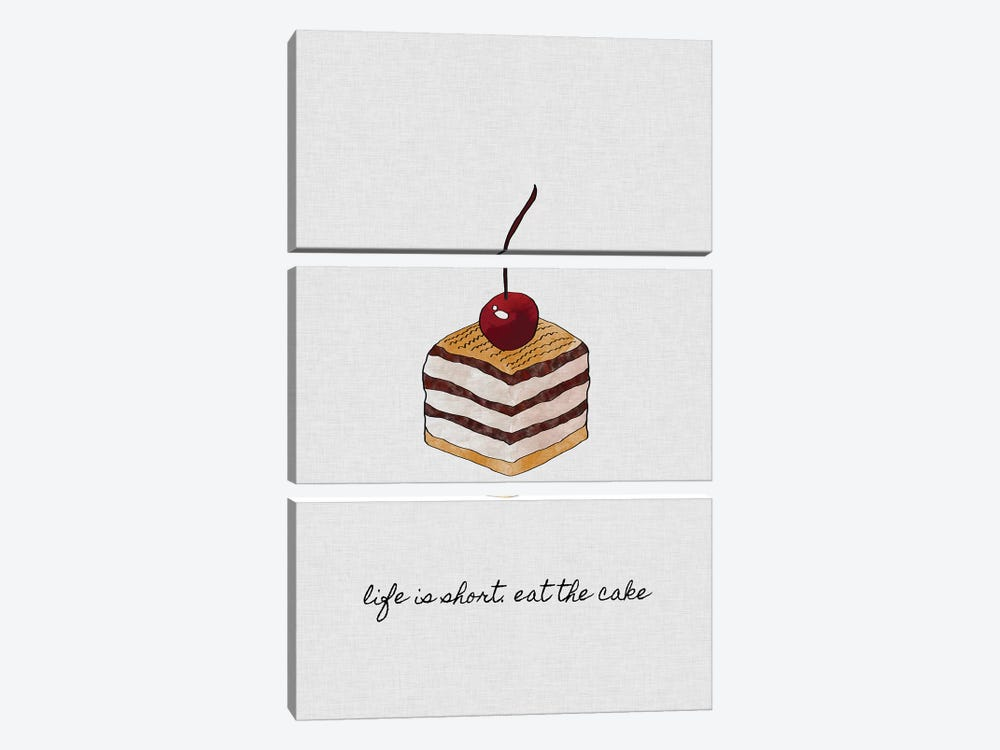 Life Is Short by Orara Studio 3-piece Canvas Artwork