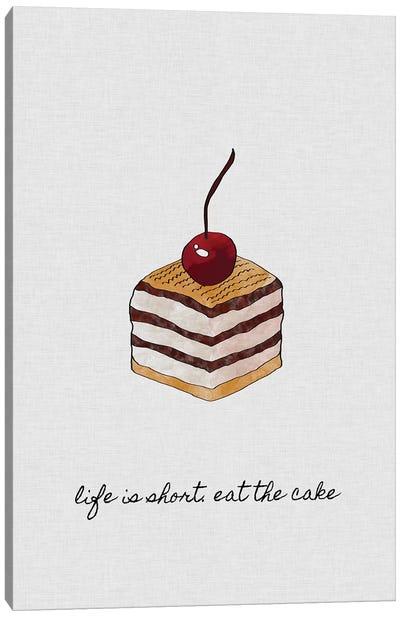 Life Is Short Canvas Art Print