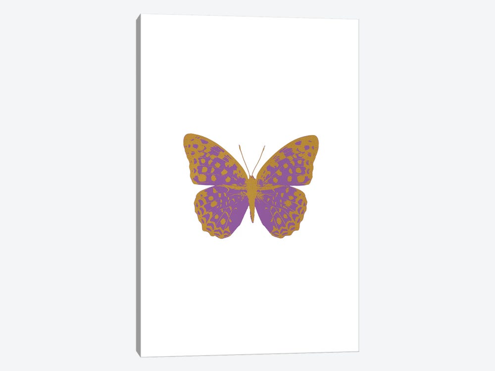 Lilac Butterfly by Orara Studio 1-piece Canvas Wall Art
