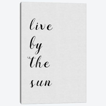 Live By The Sun Canvas Print #ORA133} by Orara Studio Art Print
