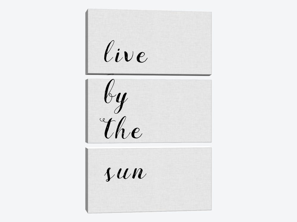 Live By The Sun by Orara Studio 3-piece Canvas Art Print