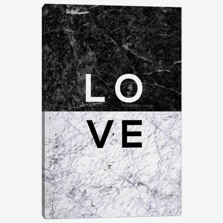 Love B&W Canvas Print #ORA135} by Orara Studio Canvas Art