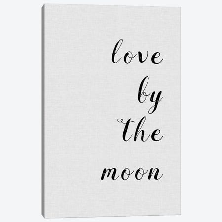 Love By The Moon Canvas Print #ORA136} by Orara Studio Canvas Art