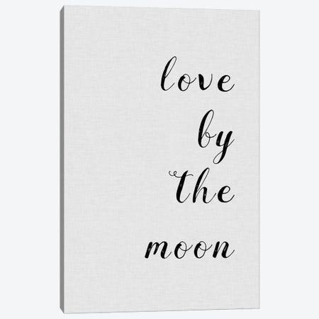 Love By The Moon Canvas Print #ORA136} by Orara Studio Canvas Art