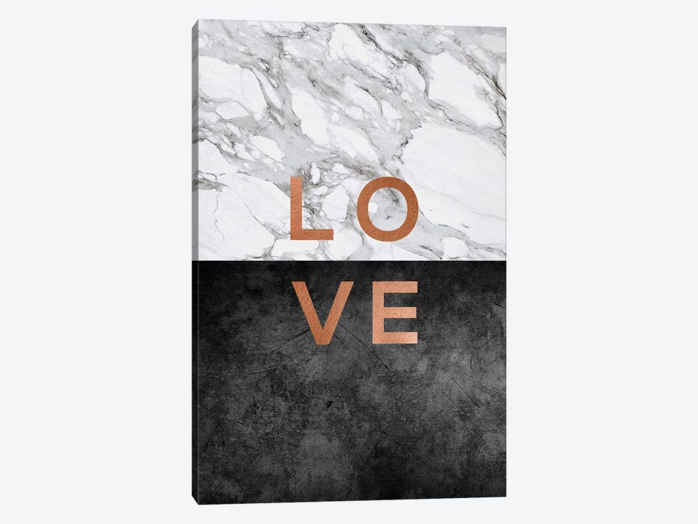 Love Copper by Orara Studio 1-piece Canvas Print